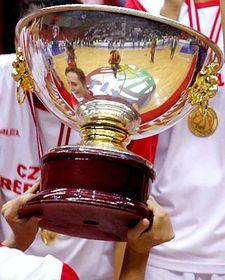 Vítězný pohár pro Českou republiku, foto: ČTK