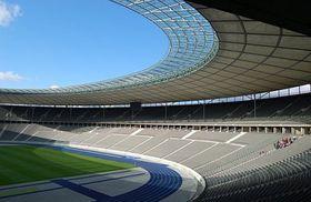Vnitřní pohled na Olympijský stadion vBerlíně, foto: ČTK