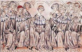 Le mariage de Jean de Luxembourg et Eliška Přemyslovna