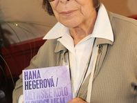 Hana Hegerová avec son nouvel album, photo: CTK