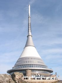 Hotel Ještěd (& TV tower), photo: Štěpánka Budková