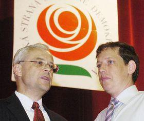 Владимир Шпидла и Станислав Гросс (Фото: ЧТК)