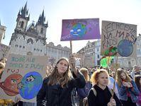 Klimastreik (Foto: ČTK / Michaela Říhová)