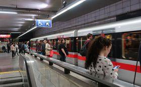 La línea C del metro de Praga en la actualidad, foto: Lenka Žižková