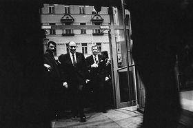 François Mitterrand et Václav Havel