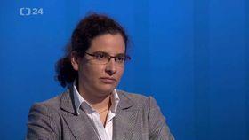Irena Kalhousová, photo: ČT24