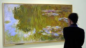Claude Monet, Les Nénuphars, photo: CTK