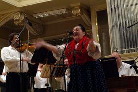 Jarmila Šuláková con la Orquesta de la Radiodifusión de Brno, foto: Ota Nepilý, ČRo