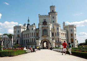 Замок Глубока, Фото: Барбора Немцова, Чешское радио - Радио Прага