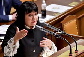 Alena Schillerová (Foto: ČTK / Vít Šimánek)