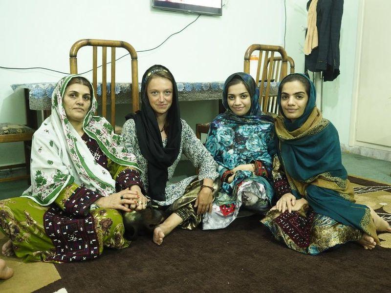 Frauen im Iran (Foto: Olga Džulajová)