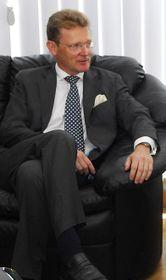 Посол Великобритании Николас Арчер, фото: Архив Министерства иностранных дел и по делам Содружества, Flickr, OGL v1.0