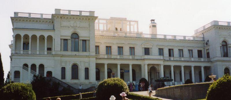 Ливадийский дворец, фото: Wikimedia Commons CC BY-SA 3.0