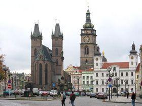 Kostel Svatého Ducha aBílá věž, foto: Archiv Radia Praha