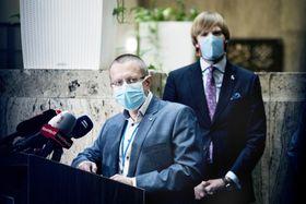 Ladislav Dušek aAdam Vojtěch, foto: Michaela Danelová, ČRo