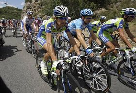 Roman Kreuziger (far right), photo: CTK