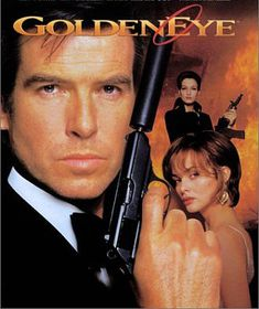 Brosnan's first outing as Bond