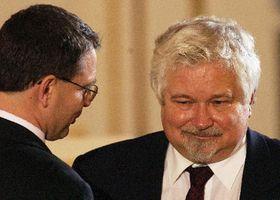 Петр Питгарт - направо (Фото: ЧТК)