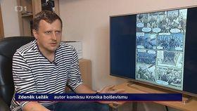 Zdeněk Ležák, photo: ČT