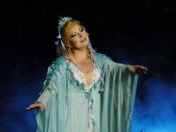 Eva Urbanová dans le rôle de 'Rusalka', photo: Jihočeské divadlo