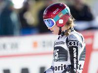 Ester Ledecká, photo: ČTK/AP/Gian Ehrenzeller