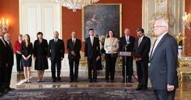 Regierung der Tschechischen Republik (Foto: www.vlada.cz)
