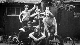 Le groupe Aktual, photo: Fenomén Underground / ČT