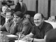 Franz Fühmann in 1981, photo: Bundesarchiv, Bild 183-Z1229-318 / Senft, Gabriele / CC-BY-SA 3.0