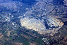 La mine à ciel ouvert de Turów, photo: Julian Nyča, CC BY-SA 3.0