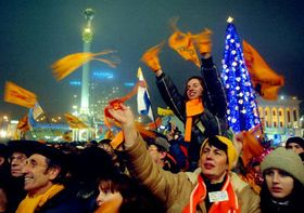 Independence Square in Kiev, photo: CTK