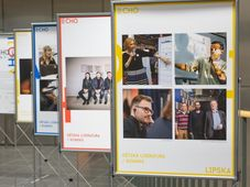 """Festival """"Ahoj Brno! Echo Leipzig"""" (Foto: Archiv der Mährischen Landesbibliothek in Brno)"""