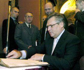 Александру Квасьневскому были переданы древнееврейские тексты и инкунабулы (Фото: ЧТК)