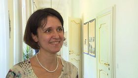 Kateřina Šimáčková, photo: ČT24