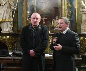Josef Pleskot und Norbert Schmidt (Foto: Martina Schneibergová)