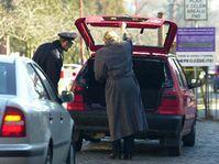 Policejní hlídky v Olomouci jsou mnohonásobně posíleny..., foto: ČTK