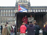 Campaign against repression in Cuba, photo: Radio Prague