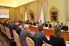 Международная конференция о ядерном разоружении Pražská agenda (Фото: Архив Министерства иностранных дел Чехии)