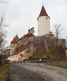 Castillo de Křivoklát, foto: Miloš Turek