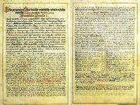 Historic documents, photo: CTK
