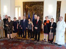 Krajané, kteří obdrželi v roce 2017 cenu Gratias agit, foto: archiv Českého rozhlasu - Radia Praha