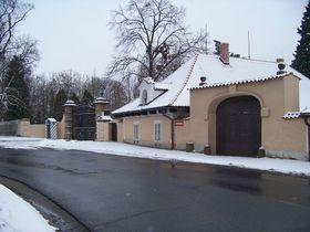 Въезд в замок Ланы, Фото: ŠJů, CC BY-SA 3.0