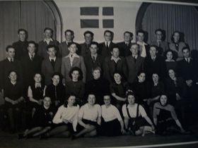 Jewish teenagers from Czechoslovakia in Denmark, photo: archive of Judita Matyášová