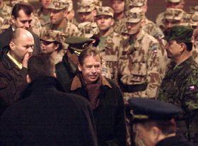 Václav Havel y la Unidad Antiquímica checa, foto: CTK
