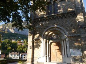 L'église de Corenc, photo: Magdalena Hrozínková