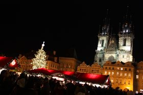 Adviento en Praga: La Plaza de la Ciudad Vieja
