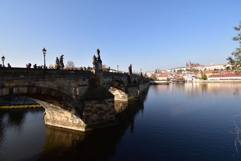 El río Moldava en Praga, foto: Ondřej Tomšů