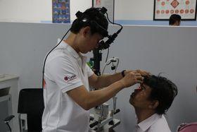Augenklinik in Takeo (Foto: Archiv der tschechischen Caritas)