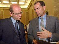 Bohuslav Sobotka y Zdenek Tuma, foto: CTK