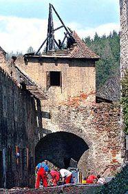 Castillo de Pernstejn en la actualidad (Foto: CTK)