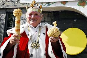 King Tvaruzek I, photo: CTK